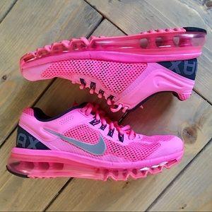 Nike Neon Pink Air Max Sneakers